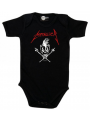 Metallica baby romper Scary Guy