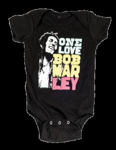 Bob Marley baby romper Smile Love (Clothing)