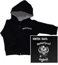 Motorhead England kinder sweater/ zip hoodie