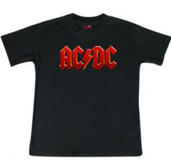 ACDC Kids T-Shirt Logo colour - Metal kinder