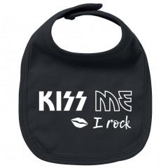 Rock Baby Slabbetje kiss me I Rock