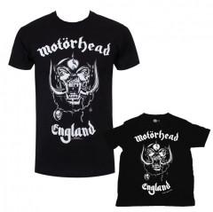 Duo Rockset Motörhead papa t-shirt & kinder t-shirt