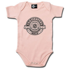 Foo Fighters Romper Logo Pink – metal rompers