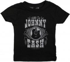 Johnny Cash Kinder T-shirt Hello I'm Johnny