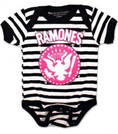 Ramones baby romper Pinned