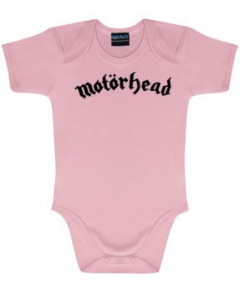 Motörhead Baby Romper Logo Pink