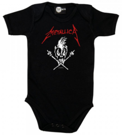 Metallica baby romper Scary Guy