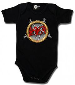 Slayer Rompertje Pentagram baby metal rompertjes