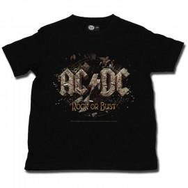 ACDC kinder T-Shirt Rock or Bust