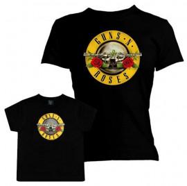 Set Guns N' Roses mama t-shirt & kids T-shirt