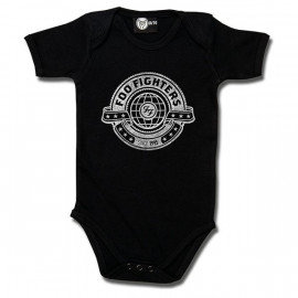 Foo Fighters Baby Romper Logo