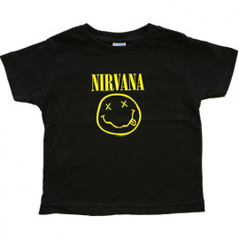 Nirvana kinder t-shirt Smiley