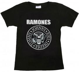Ramones Kids T-shirt Logo White