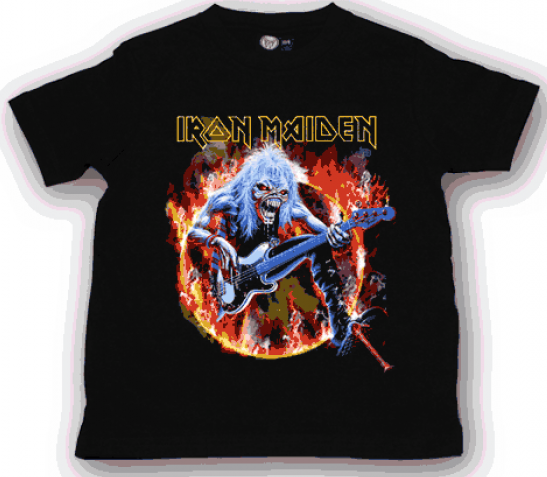 Iron Maiden kinder T-shirt Eddie (Clothing)