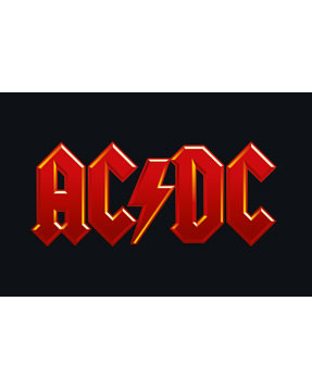 AC DC rompers