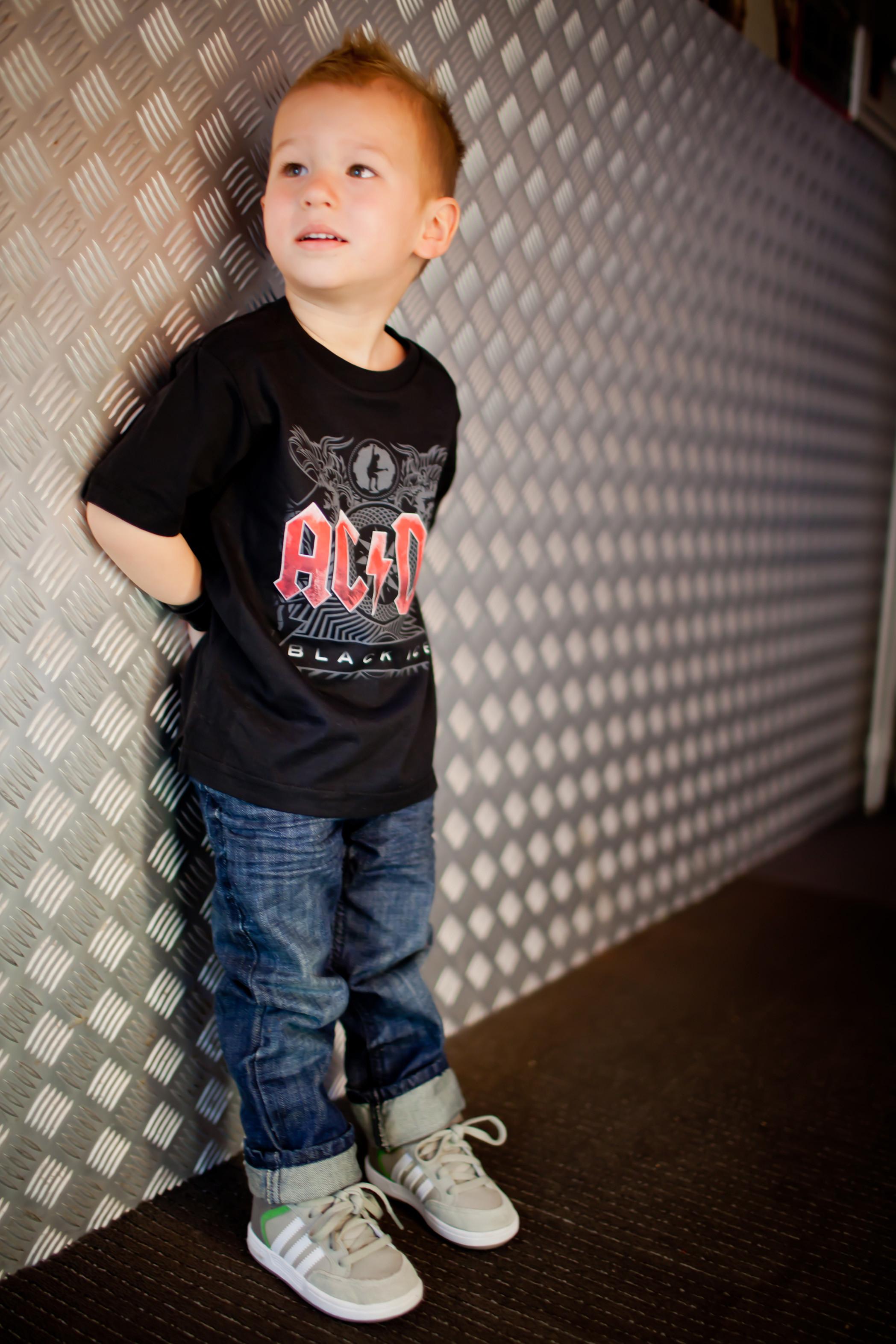 ACDC Kids T-Shirt Black Ice