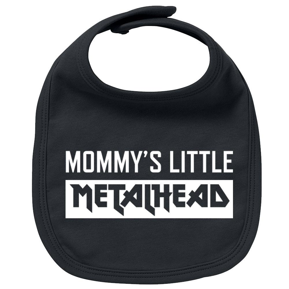 Metal Baby Slabbetje Mommy's little Metalhead