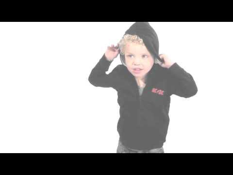 ACDC baby sweater - Black Ice | Stoere  Babykleding