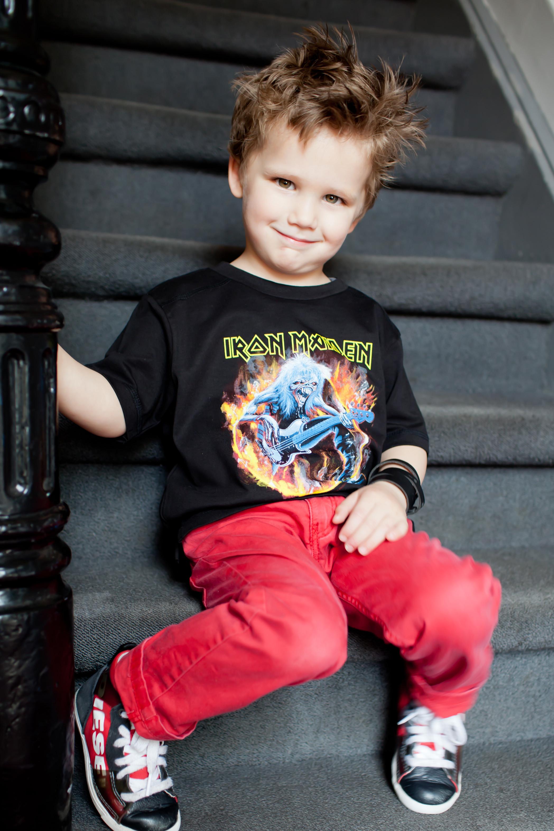 Iron Maiden Kinder T-shirt