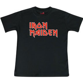 Iron Maiden Kids T-shirt Logo