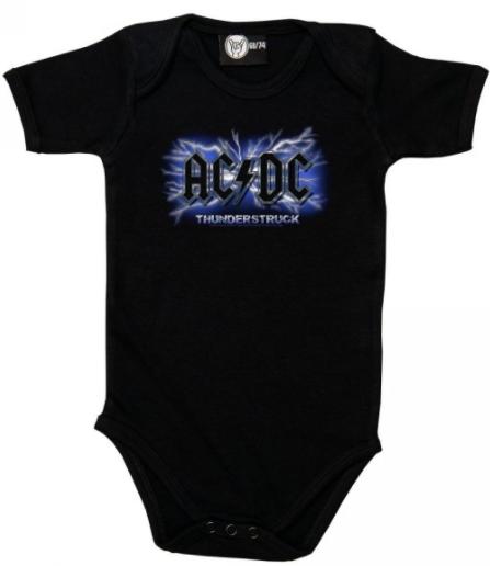 Stoere rompers van AC/DC | Thunderstruck
