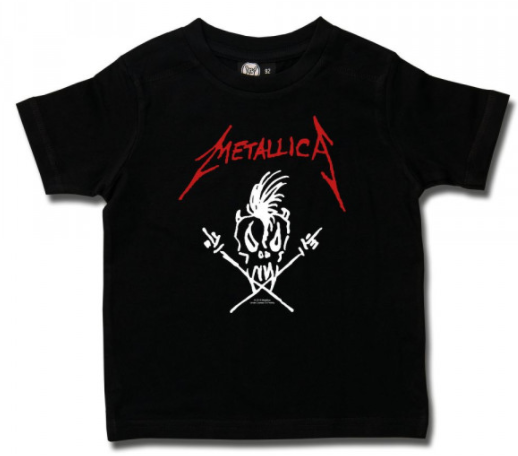 Metallica Kinder T-shirt - Scary Guy