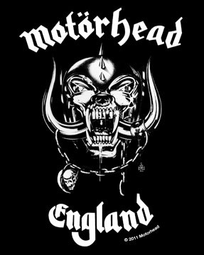 Motörhead Kinder T-shirt England | Littlerockstore close up