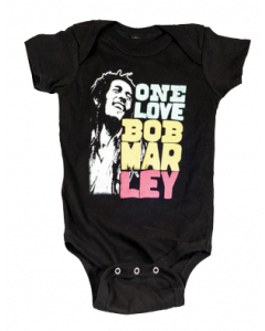 Bob Marley romper baby Smile Love