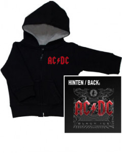 ACDC baby sweater - Black Ice | Stoere  Babykleding