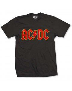 ACDC kinder T-shirt yellow