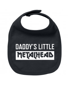 Metal Baby Slabbetje Daddy's little Metalhead