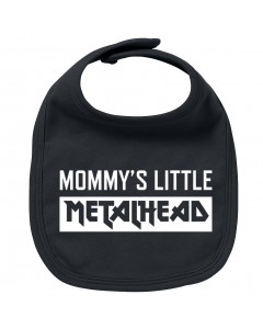 Metal Baby Slabbetje Mommy's little Metalhead
