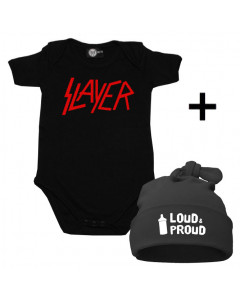 Cadeauset Slayer Baby Romper & Loud & Proud Muts