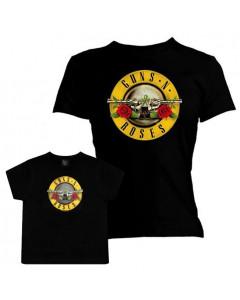Set Guns N' Roses mama t-shirt & baby T-shirt