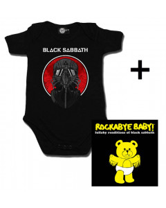 Cadeauset Black Sabbath Baby Romper 2014 & lullaby CD