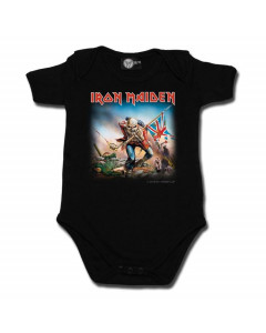 Iron Maiden Baby Romper Trooper  | Littlerockstore
