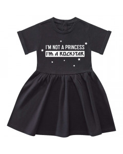 I'm not a princess I'm a rockstar Jurk