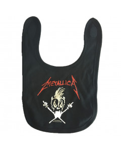 Metallica baby slabbertje Logo