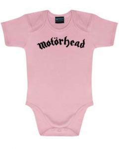 Motörhead Romper Logo Pink – metal rompers