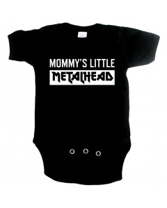 Metal babyromper mommy's little metalhead