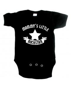 rock baby romper mommy's little rockstar