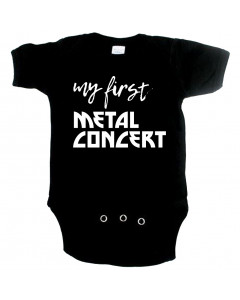Metal babyromper my first metal concert
