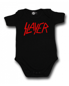 Slayer Romper Logo Metal Rompers Slayer