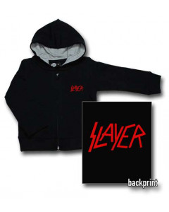 Slayer Logo Red baby sweater (Print On Demand)