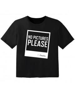 stoer baby t-shirt no pictures please