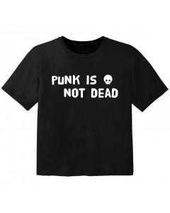 punk baby t-shirt punk is not dead