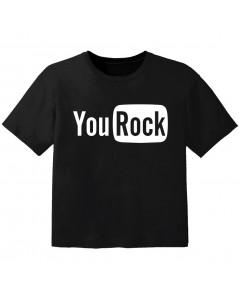 rock kinder t-shirt you rock