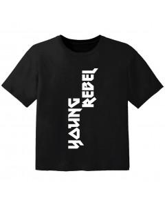 stoere kinder t-shirt young rebel
