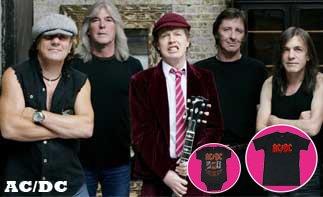 AC/DC rock baby kleding