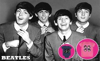 Beatles rock baby kleding
